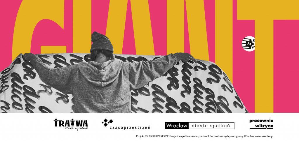 Grafika reklamowa wydarzenia. Logotypy organizatorów.